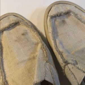 Sanuk Shoes - Sanuk slide backless surf Moccasins light tan 10